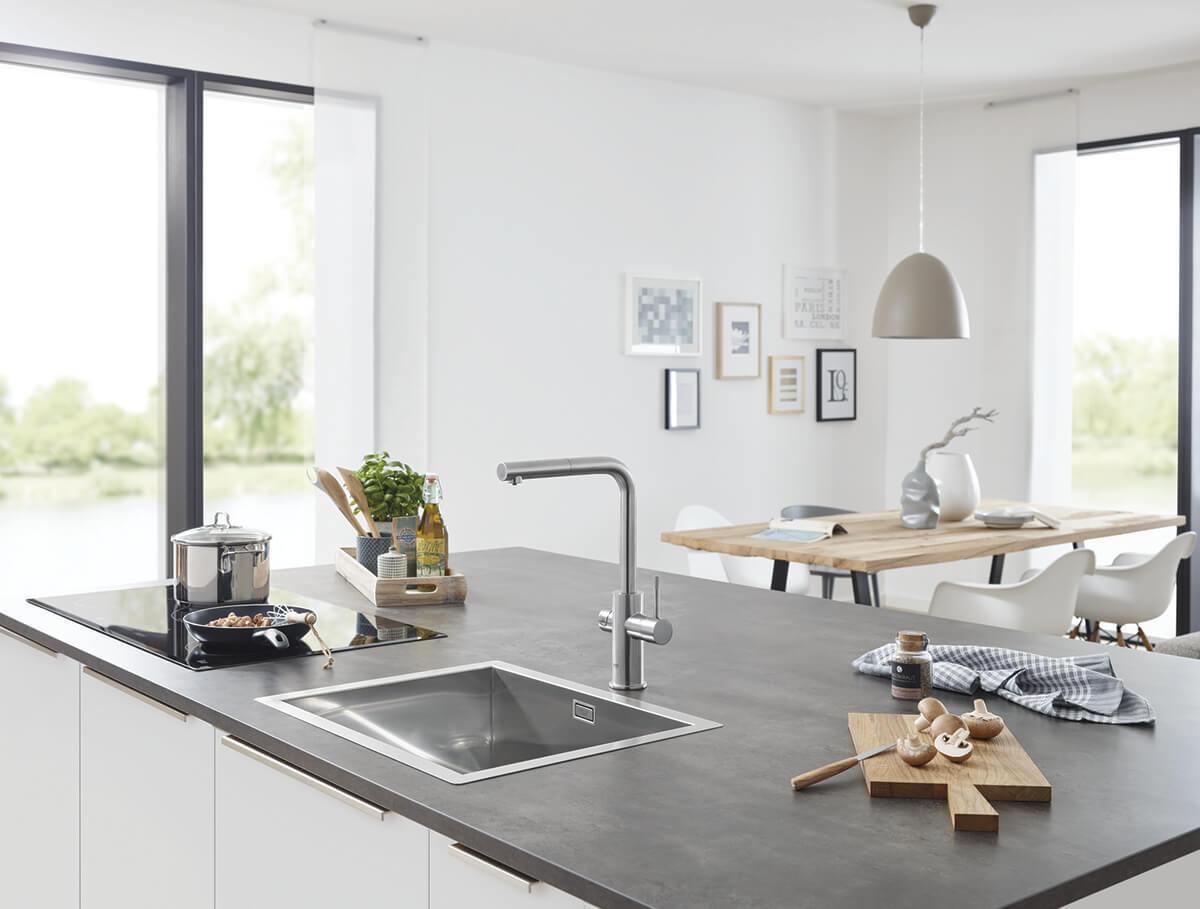 Trends Green Kitchen