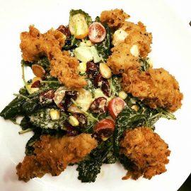 Citron Buttermilk Chix Kale Salad