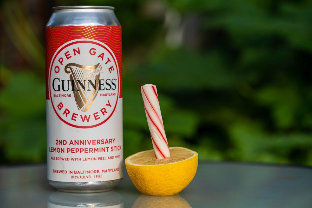 Guinness Lemon Stick