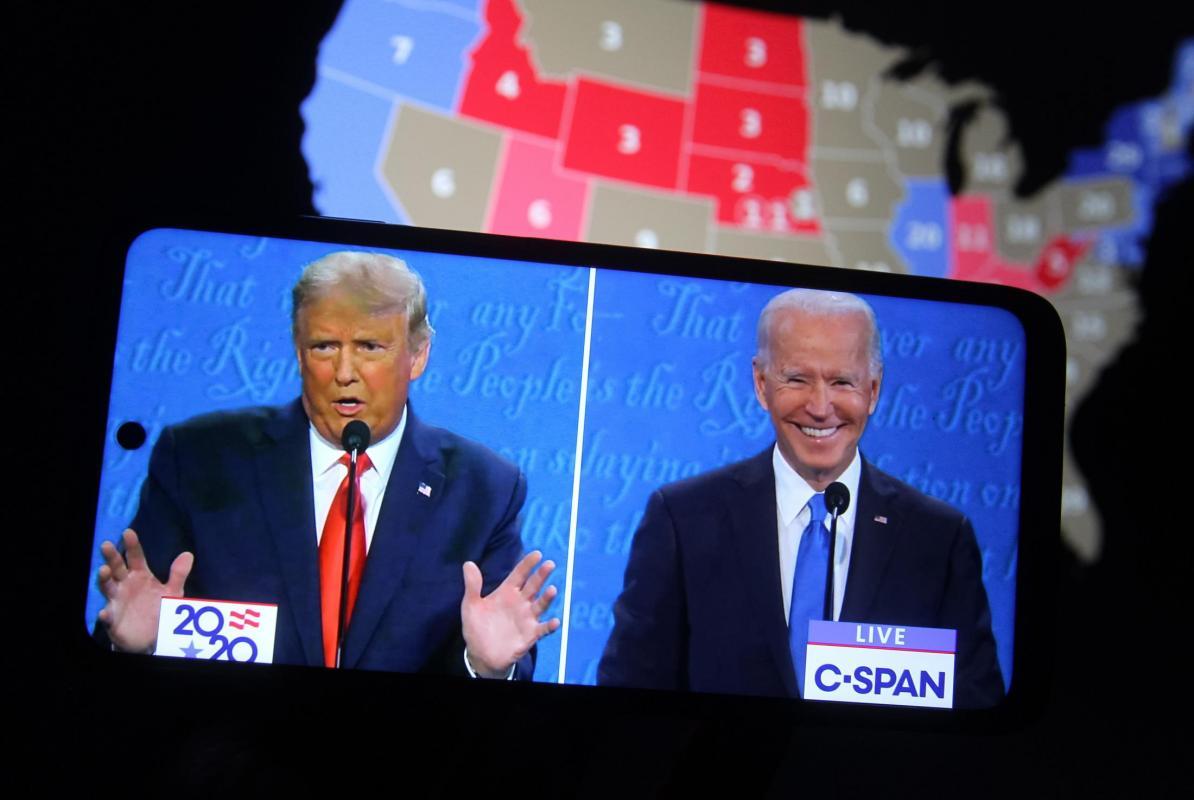 Biden vs. Trump Too Close to Call